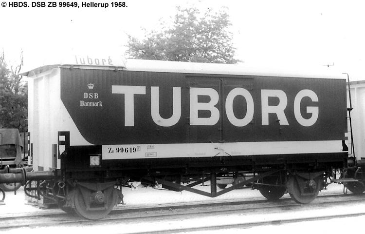 Tuborg - DSB ZB 99649