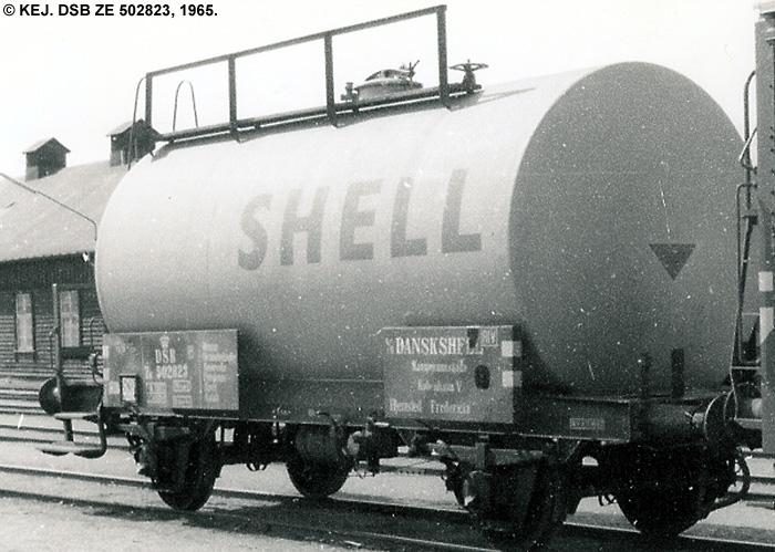 Dansk Shell A/S - DSB ZE 502823