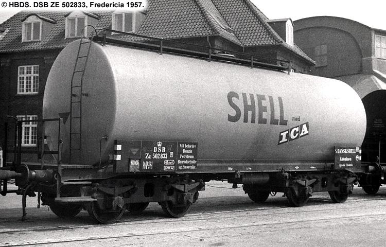 Dansk Shell A/S - DSB ZE 502833