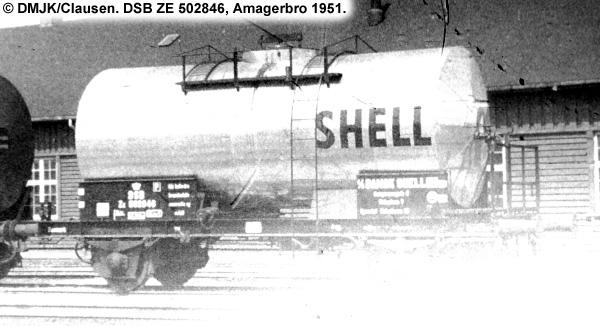 Dansk Shell A/S - DSB ZE 502846
