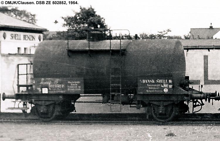 Dansk Shell A/S - DSB ZE 502852