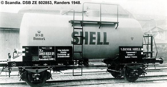 Dansk Shell A/S - DSB ZE 502853