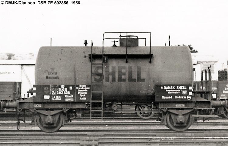 Dansk Shell A/S - DSB ZE 502856