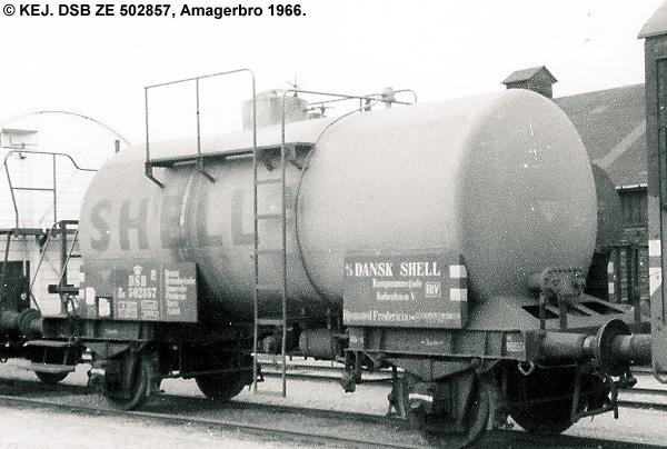 Dansk Shell A/S - DSB ZE 502857
