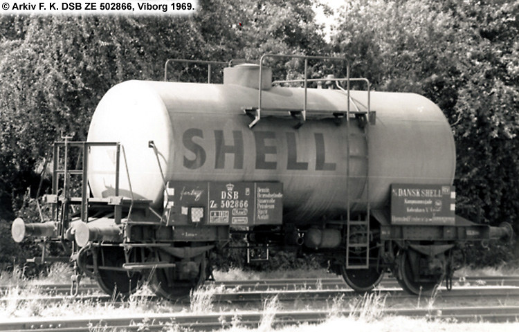 Dansk Shell A/S - DSB ZE 502866