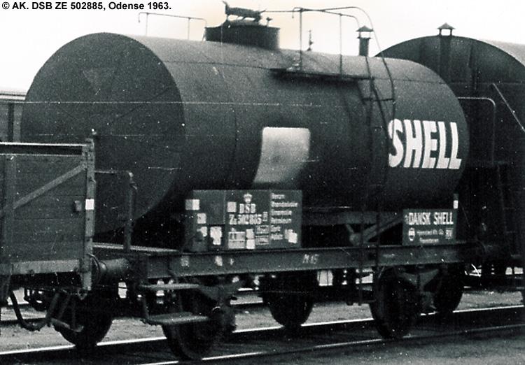 Dansk Shell A/S - DSB ZE 502885