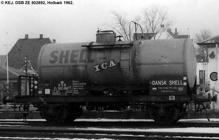 Dansk Shell A/S - DSB ZE 502892
