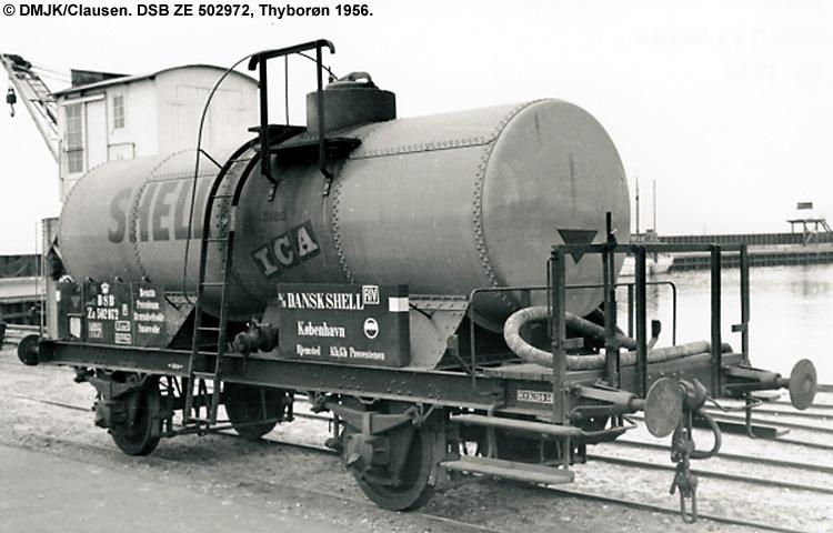 Dansk Shell A/S - DSB ZE 502972