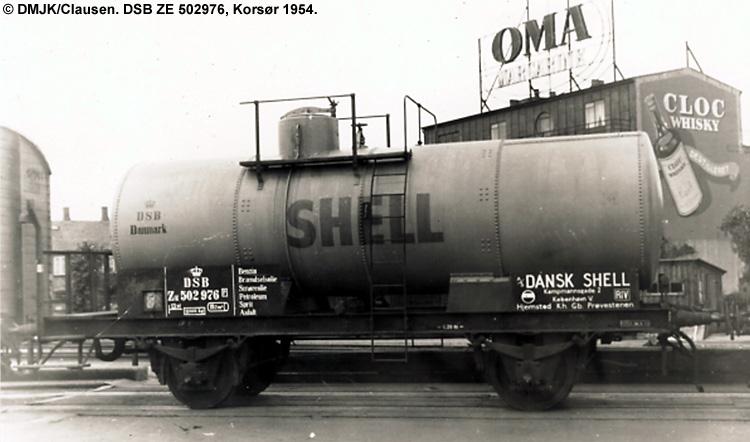 Dansk Shell A/S - DSB ZE 502976