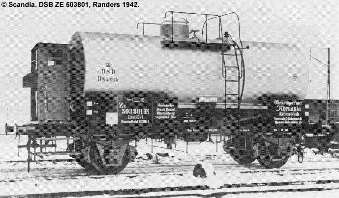 Oliekompagniet Rhenania A/S - DSB ZE 503801