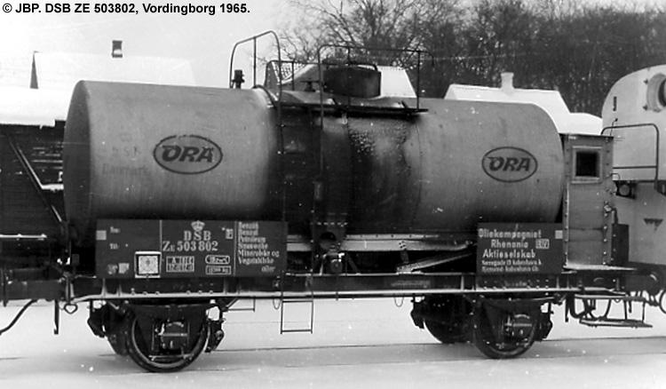 Oliekompagniet Rhenania A/S - DSB ZE 503802