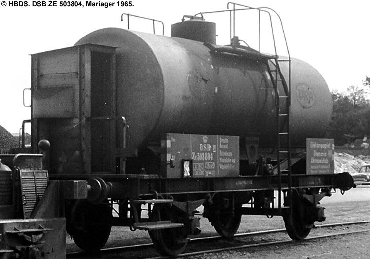 Oliekompagniet Rhenania A/S - DSB ZE 503804