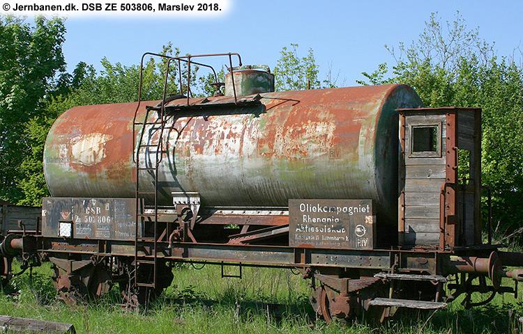 Oliekompagniet Rhenania A/S - DSB ZE 503806