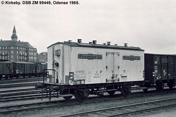 De Forenede Isværker A/S - DSB ZM 99449
