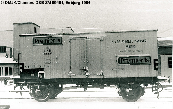 De Forenede Isværker A/S - DSB ZM 99451