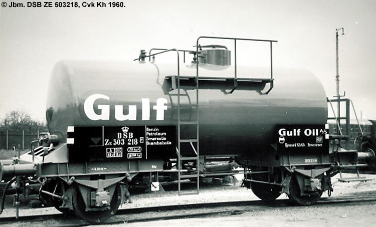 Danish American Gulf Oil Company A/S - DSB ZE 503218