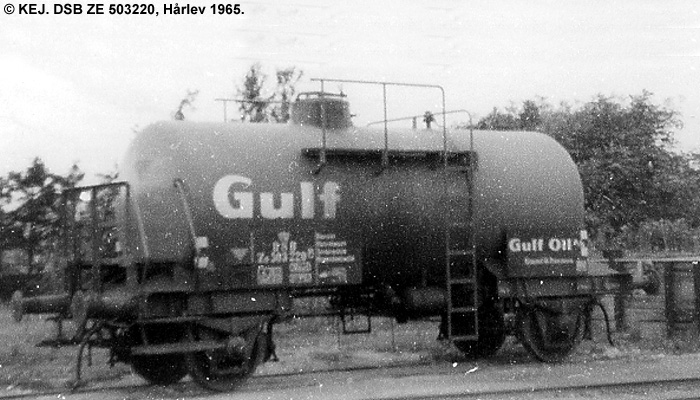 Danish American Gulf Oil Company A/S - DSB ZE 503220
