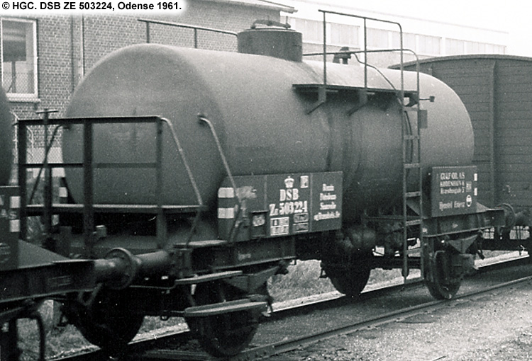 Danish American Gulf Oil Company A/S - DSB ZE 503224