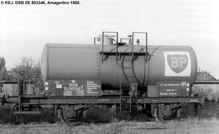 BP Olie Kompagniet A/S - DSB ZE 503346