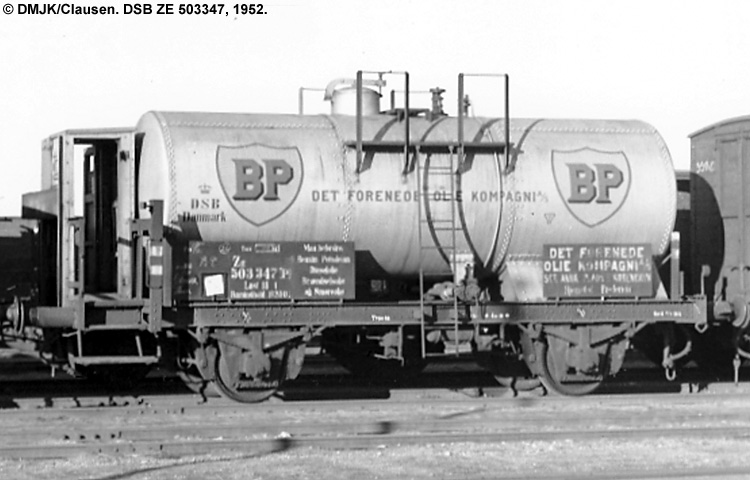 BP Olie Kompagniet A/S - DSB ZE 503347