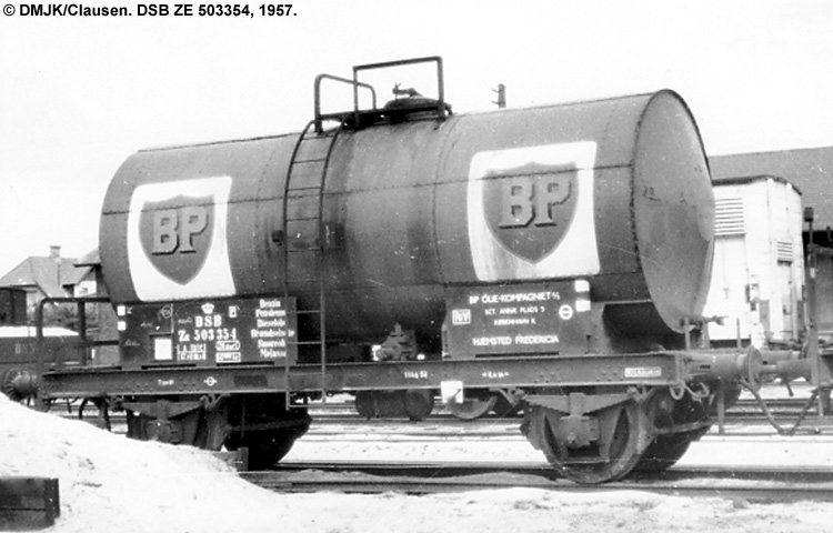 BP Olie Kompagniet A/S - DSB ZE 503354
