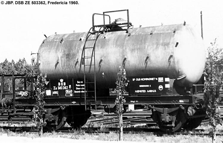 BP Olie Kompagniet A/S - DSB ZE 503362