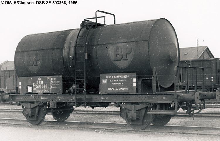 BP Olie Kompagniet A/S - DSB ZE 503366