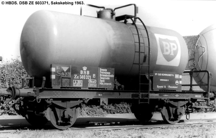 BP Olie Kompagniet A/S - DSB ZE 503371