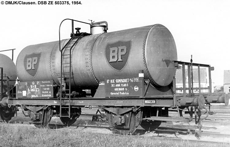 BP Olie Kompagniet A/S - DSB ZE 503375