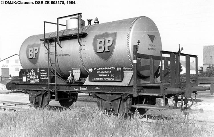 BP Olie Kompagniet A/S - DSB ZE 503378