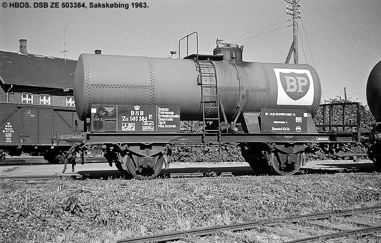 BP Olie Kompagniet A/S - DSB ZE 503384