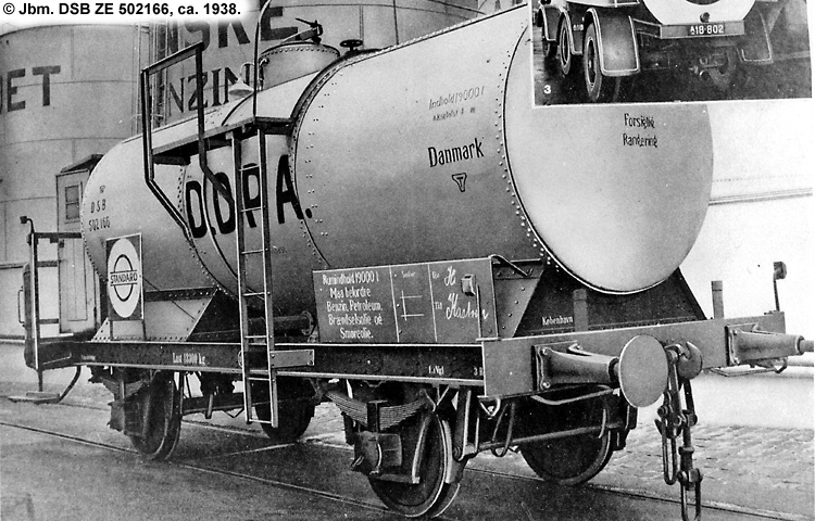 DDPA - Det Danske Petroleums-Aktieselskab - DSB ZE 502166