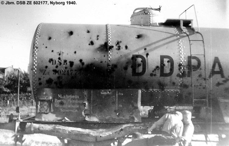 DDPA - Det Danske Petroleums-Aktieselskab - DSB ZE 502177