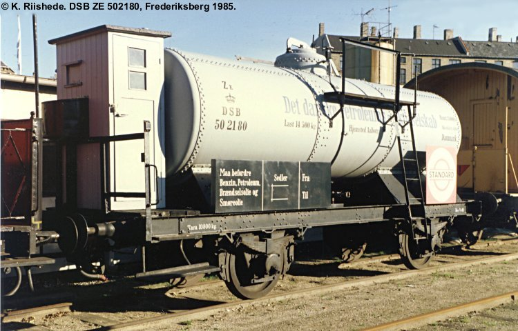 DDPA - Det Danske Petroleums-Aktieselskab - DSB ZE 502180