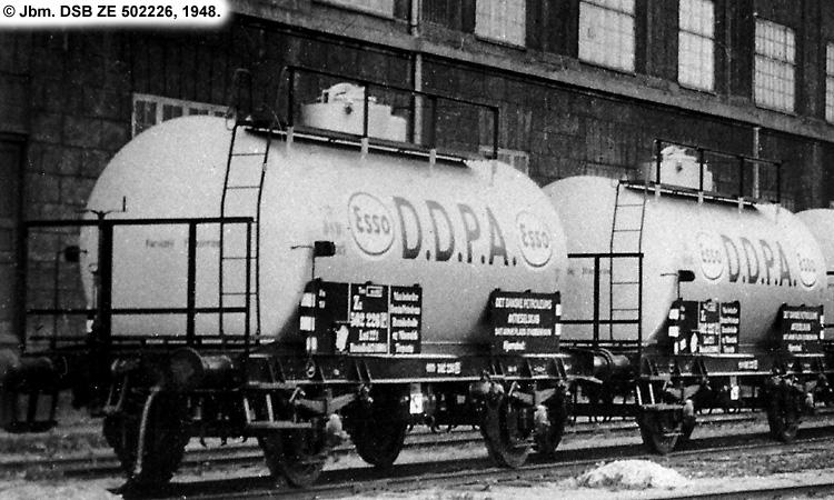 DDPA - Det Danske Petroleums-Aktieselskab - DSB ZE 502226