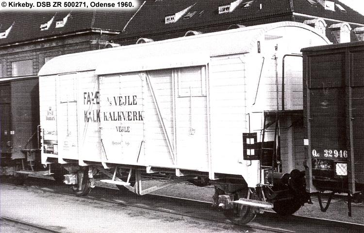 Vejle Kalkværk - DSB ZR 500271