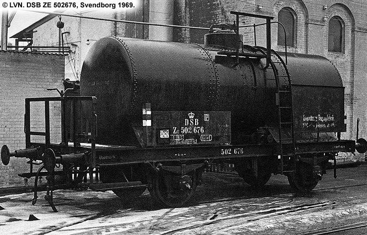 Svendborg Tagpap- og Cementvarefabrik - DSB ZE 502676