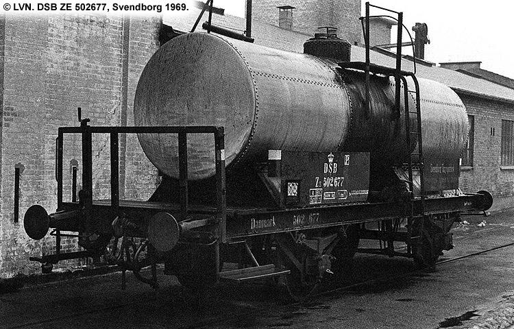 Svendborg Tagpap- og Cementvarefabrik - DSB ZE 502677