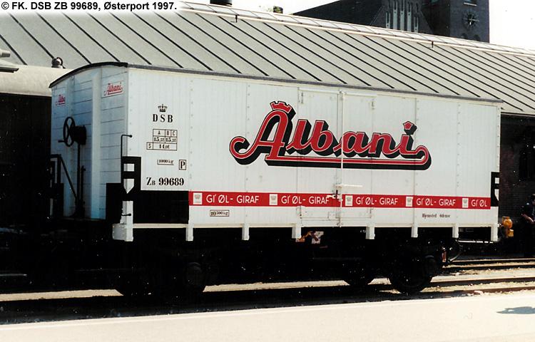 Albani Bryggerierne A/S - DSB ZB 99689