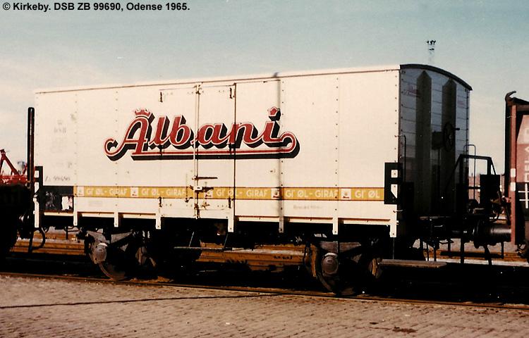 Albani Bryggerierne A/S - DSB ZB 99690