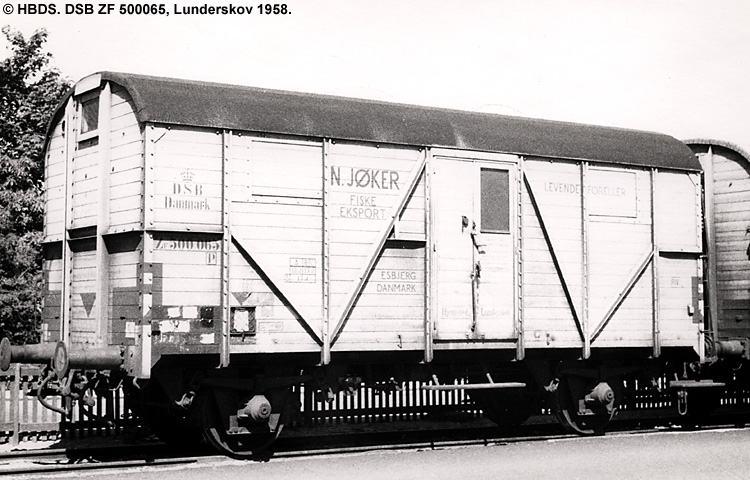 N. Jøker - DSB ZF 500065