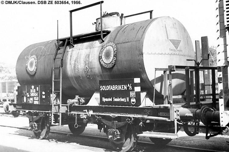 Solo Fabriken A/S - DSB ZE 503654