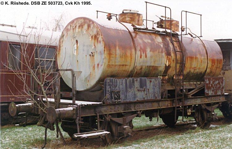 De Forenede Benzinimportører A/S - DSB ZE 503723
