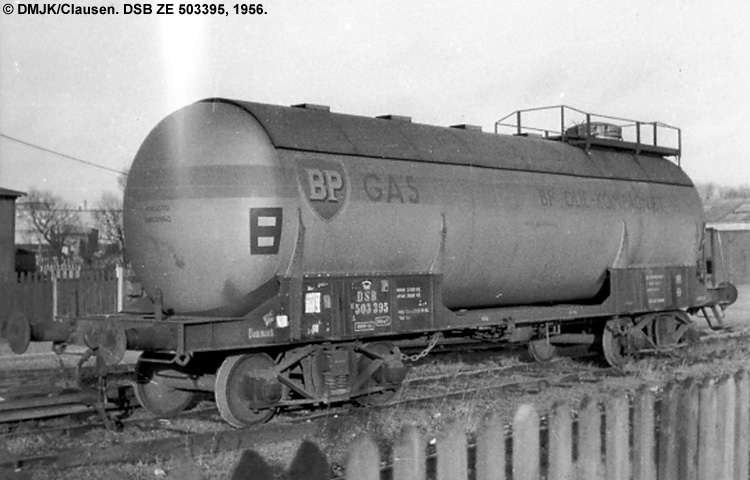 BP Gas A/S - DSB ZE 503395