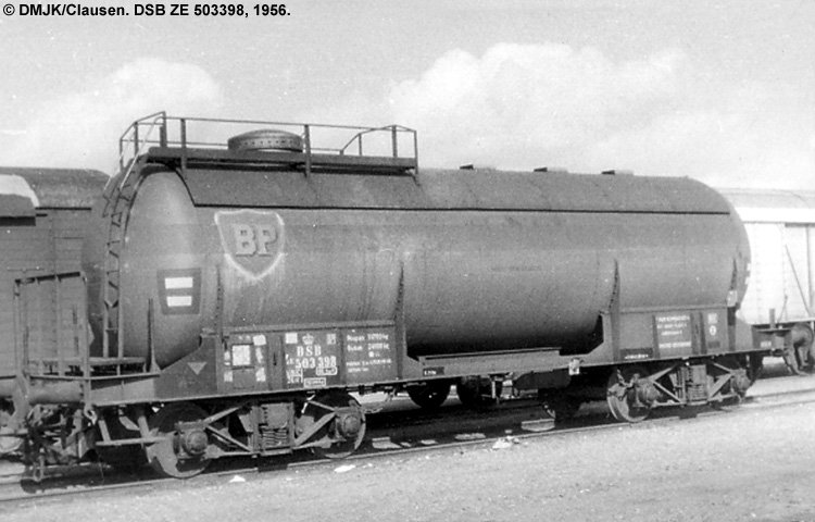 BP Gas A/S - DSB ZE 503398