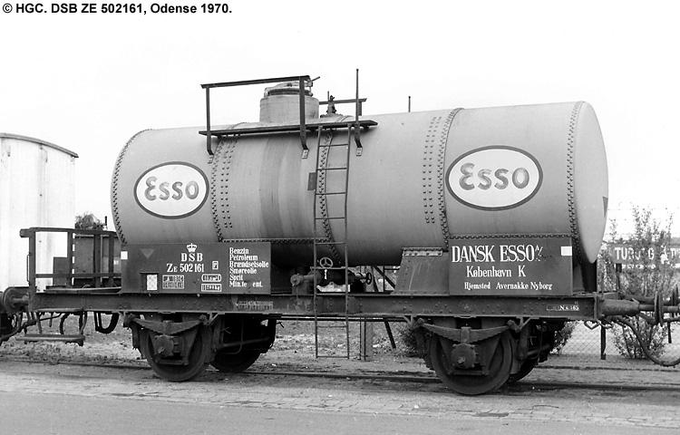 Dansk Esso A/S - DSB ZE 502161