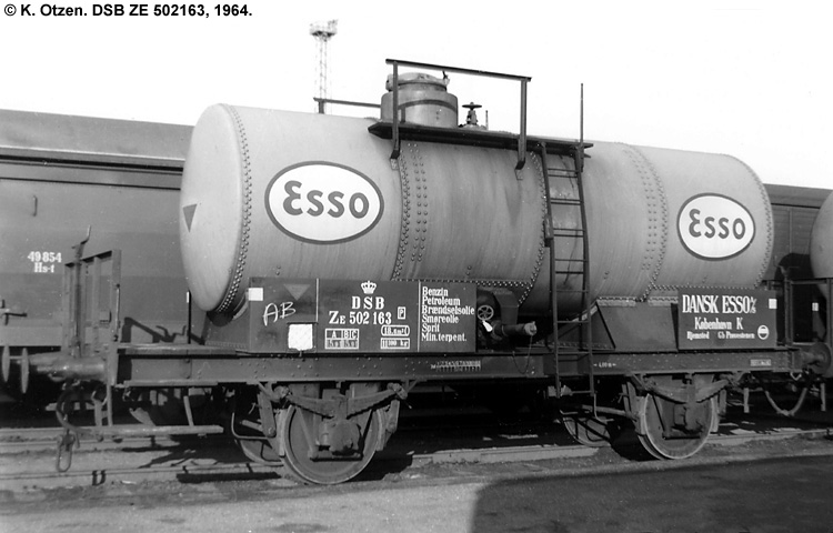 Dansk Esso A/S - DSB ZE 502163