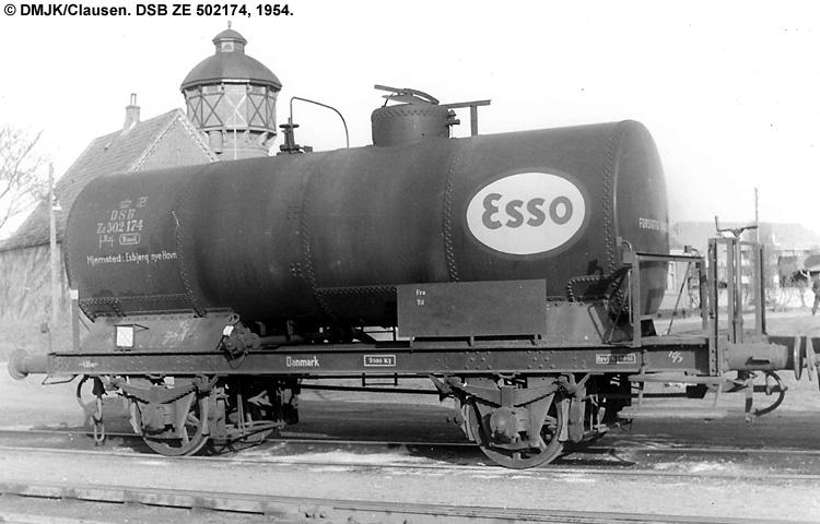 Dansk Esso A/S - DSB ZE 502174