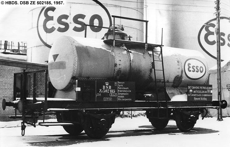 Dansk Esso A/S - DSB ZE 502185