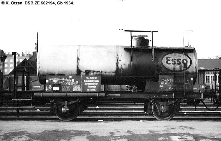 Dansk Esso A/S - DSB ZE 502194